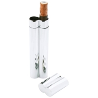 Wholesale Dual Stainless Steel Cigar Holder for sale at bulk cheap prices!