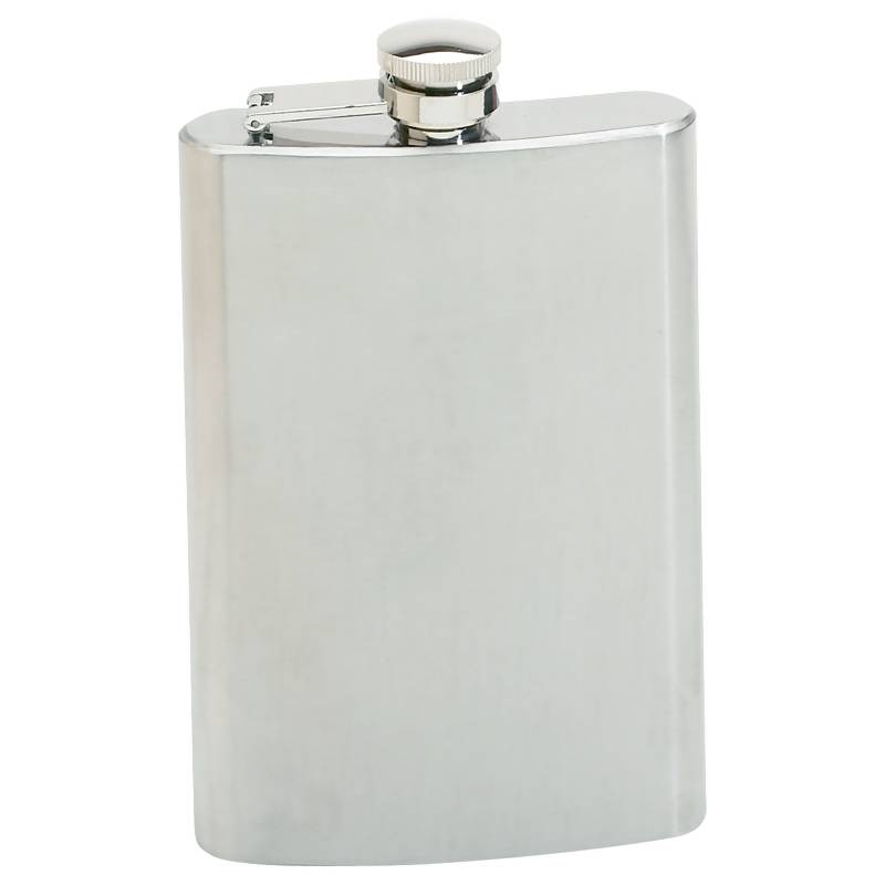 8oz Stainless Steel Hip Flask