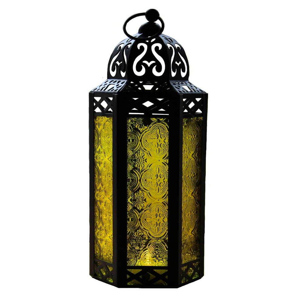 Yellow Candle Lanterns