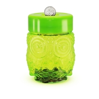 Wholesale Green Owl Coin Bank for sale at  bulk cheap prices!