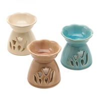 Wholesale Spring Floral Oil Warmer Trio for sale at bulk cheap prices!