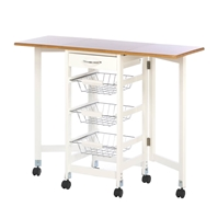 Wholesale Kitchen Trolley Extended Table for sale at bulk cheap prices!