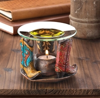 Wholesale Cowboy Boots Oil Warmer for sale at bulk cheap prices!