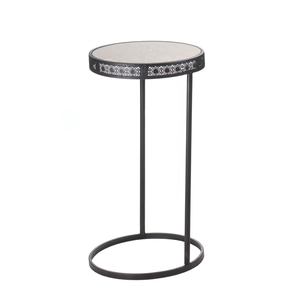 Midnight Moroccan Accent Table