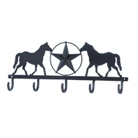 Wholesale Lonestar Horses Wall Hook for sale at bulk cheap prices!