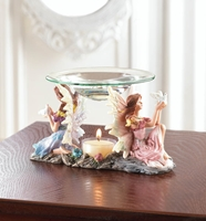 Wholesale Twin Fairies Oil Warmer for sale at  bulk cheap prices!