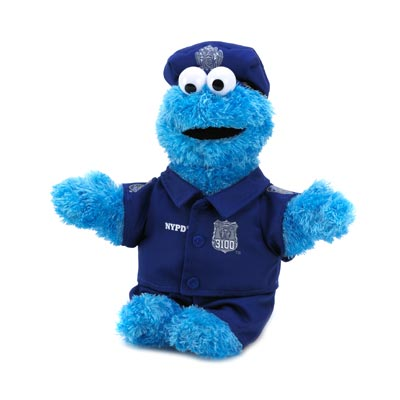 Sesame St. Nypd Cookie Monster
