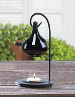 Wholesale Black Tear Drop Oil Warmer for sale at  bulk cheap prices!