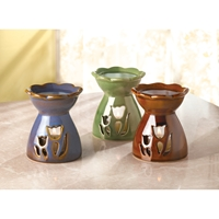 Wholesale Porcelain Tulip Oil Warmer for sale at bulk cheap prices!