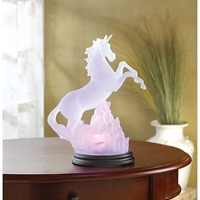 Wholesale Frosted Unicorn with Multicolor Light for sale at bulk cheap prices!